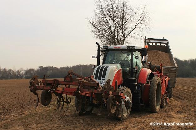 Steyr CVT 6145 + Grimme GL 34KL (1)