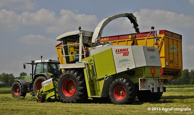 Claas JAGUAR 860 + Fendt 512C & 311 (9)