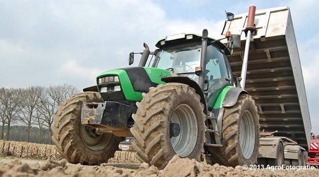 Deutz-Fahr Agrotron 135 MK3 + Grimme GL 34K & RT 300 (1)