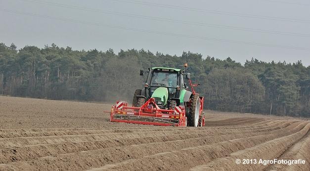 Deutz-Fahr Agrotron 135 MK3 + Grimme GL 34K & RT 300 (10)