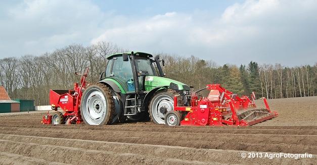 Deutz-Fahr Agrotron 135 MK3 + Grimme GL 34K & RT 300 (13)