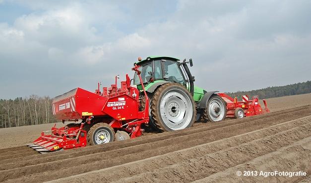 Deutz-Fahr Agrotron 135 MK3 + Grimme GL 34K & RT 300 (14)