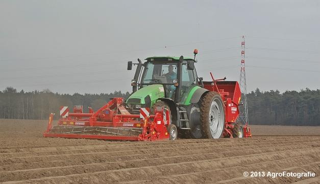 Deutz-Fahr Agrotron 135 MK3 + Grimme GL 34K & RT 300 (16)