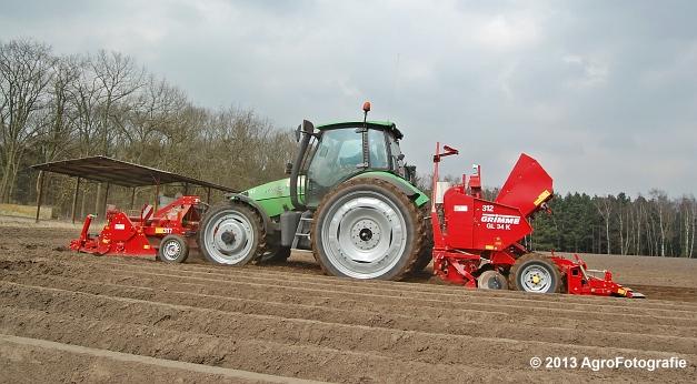 Deutz-Fahr Agrotron 135 MK3 + Grimme GL 34K & RT 300 (18)