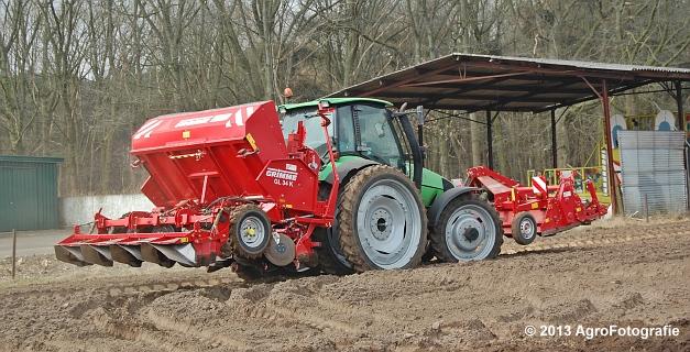 Deutz-Fahr Agrotron 135 MK3 + Grimme GL 34K & RT 300 (19)