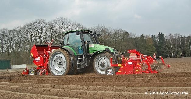 Deutz-Fahr Agrotron 135 MK3 + Grimme GL 34K & RT 300 (21)