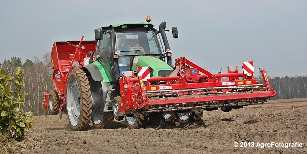 Deutz-Fahr Agrotron 135 MK3 + Grimme GL 34K & RT 300 (26)