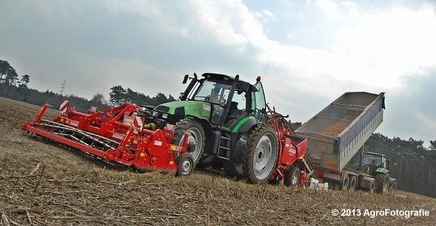 Deutz-Fahr Agrotron 135 MK3 + Grimme GL 34K & RT 300 (29)