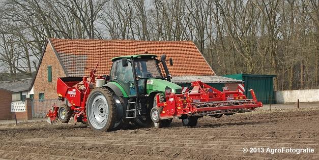 Deutz-Fahr Agrotron 135 MK3 + Grimme GL 34K & RT 300 (3)