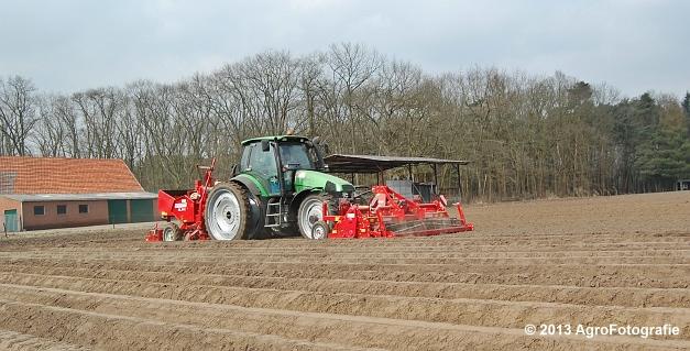 Deutz-Fahr Agrotron 135 MK3 + Grimme GL 34K & RT 300 (4)