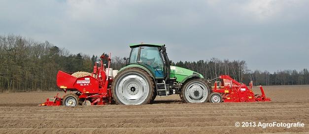 Deutz-Fahr Agrotron 135 MK3 + Grimme GL 34K & RT 300 (5)