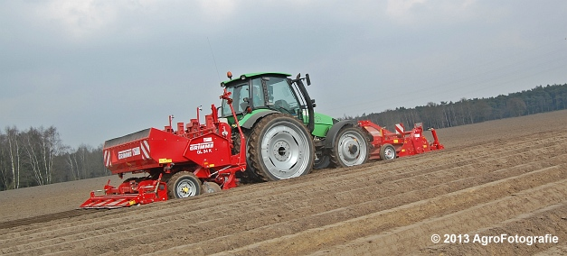 Deutz-Fahr Agrotron 135 MK3 + Grimme GL 34K & RT 300 (6)