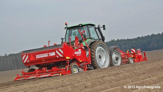 Deutz-Fahr Agrotron 135 MK3 + Grimme GL 34K & RT 300 (7)