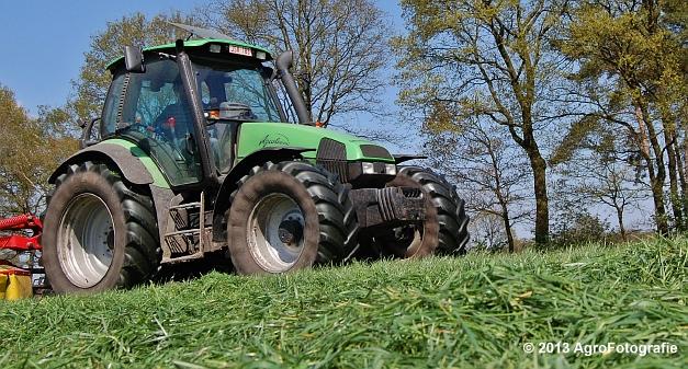 Deutz-Fahr Agrotron 135 MK3 + Pöttinger (19)