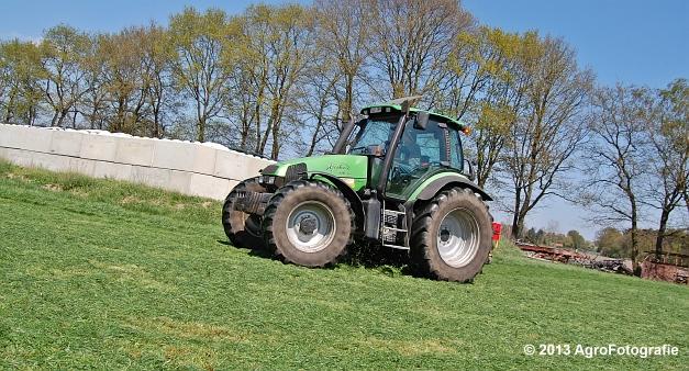 Deutz-Fahr Agrotron 135 MK3 + Pöttinger (23)
