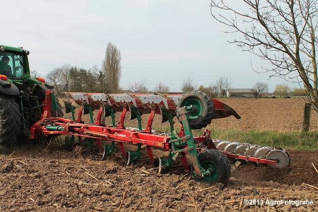 John Deere 7530 + Kverneland (3)