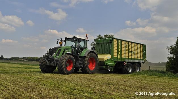 Fendt 824 + Krone ZX 450 GL (2)