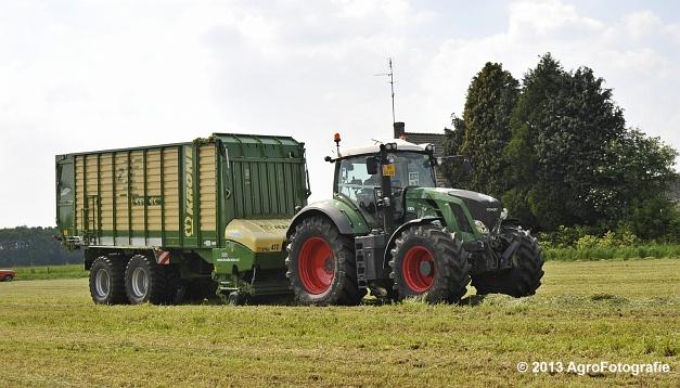 Fendt 824 + Krone ZX 450 GL (5)