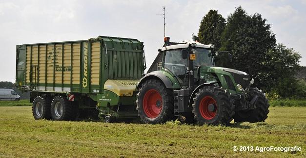 Fendt 824 + Krone ZX 450 GL (6)
