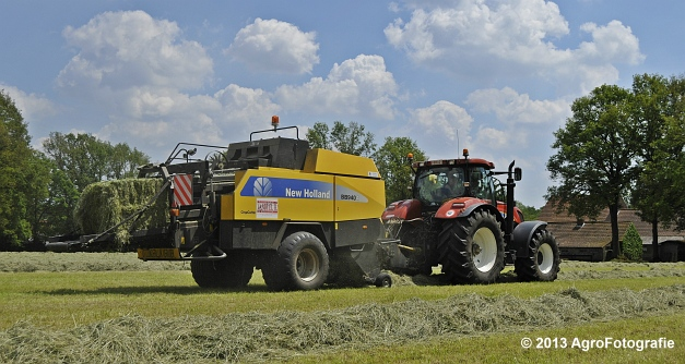 New Holland T7060 + New Holland BB940A (15)