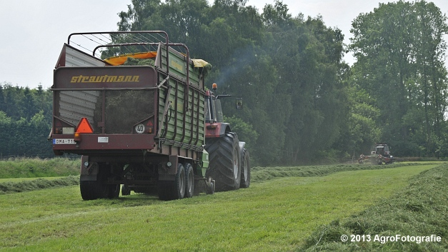 Case IH 1455XL + Strautmann SUPER Vitesse (15)