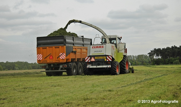 Claas JAGUAR 860 + New Holland & Fendt (29)