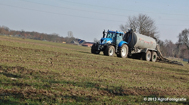 New Holland T6080 + Agrimat Challenger (1)