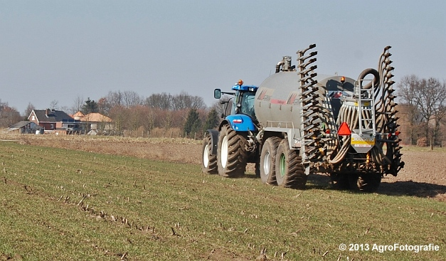 New Holland T6080 + Agrimat Challenger (10)