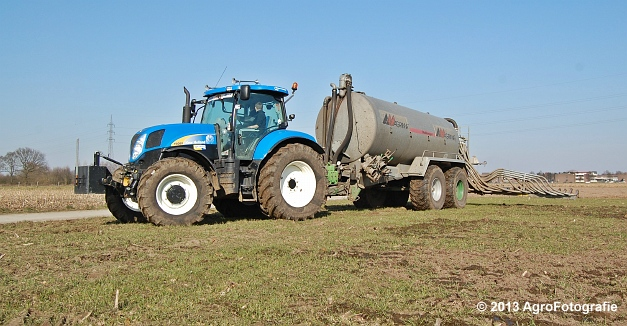 New Holland T6080 + Agrimat Challenger (25)