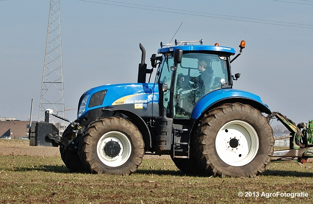 New Holland T6080 + Agrimat Challenger (4)