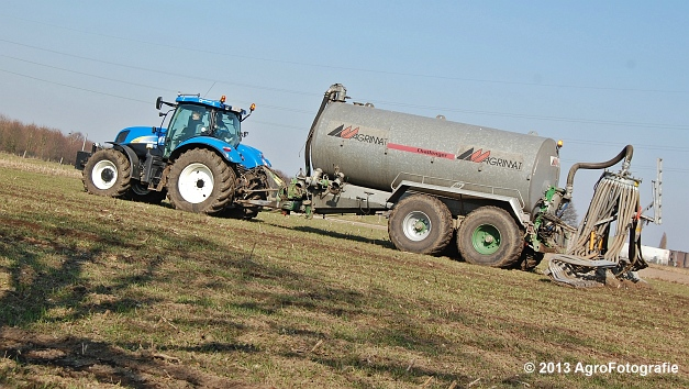 New Holland T6080 + Agrimat Challenger (6)