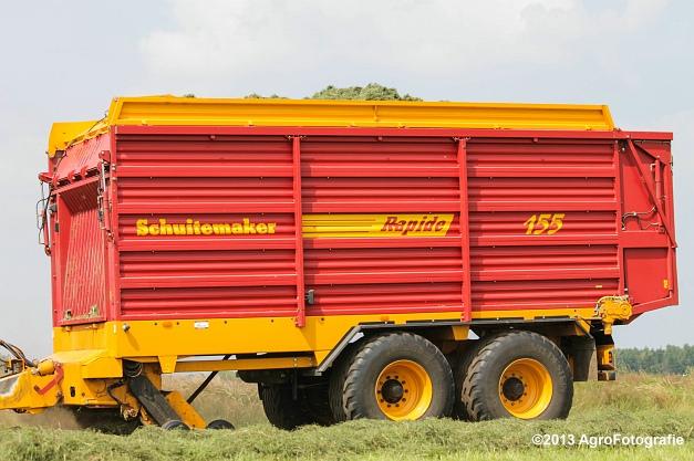 Case IH 210 + Schuitemaker Rapide 155-20