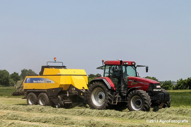 Case IH MX 170 + New Holland BB940A-19
