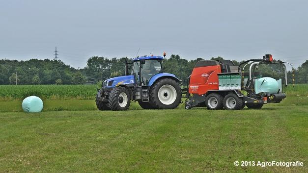New Holland T6080 + Kuhn VBP 2160 (18)