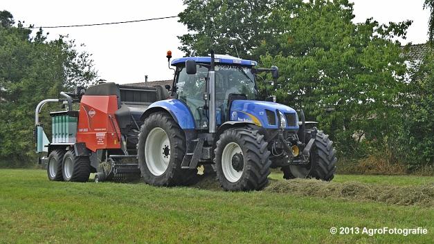 New Holland T6080 + Kuhn VBP 2160 (9)