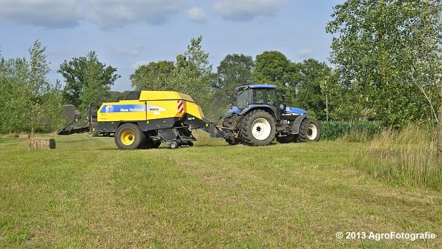 New Holland TM 155 + New Holland BB950A (18)