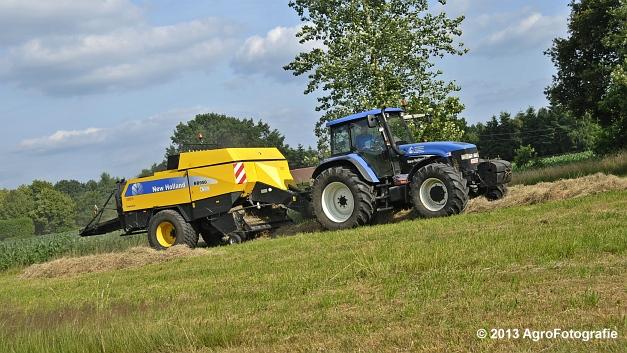 New Holland TM 155 + New Holland BB950A (19)
