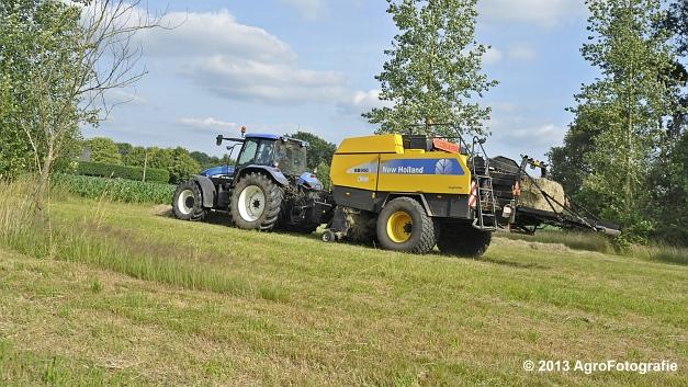 New Holland TM 155 + New Holland BB950A (20)