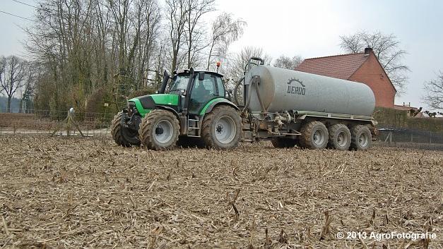 Deutz-Fahr Agrotron M620 + DEROO (10)