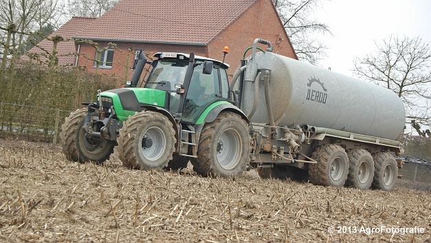 Deutz-Fahr Agrotron M620 + DEROO (8)