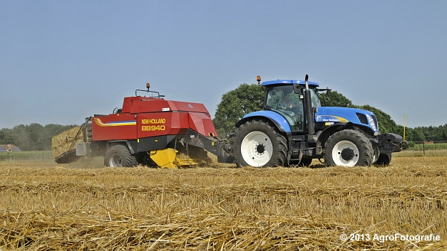 New Holland T7030 + New Holland BB940 (18)
