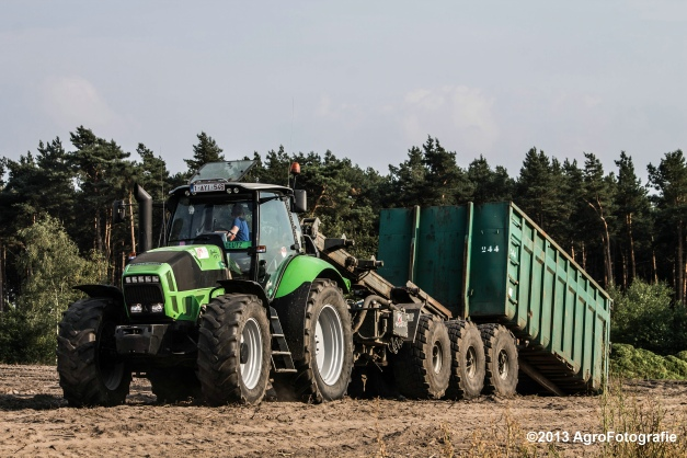Deutz-Fahr + Grimme & Dewulf R3000 Mega-10