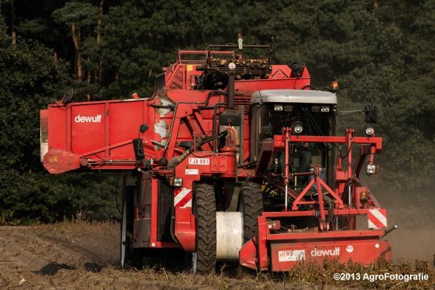 Deutz-Fahr + Grimme & Dewulf R3000 Mega-12