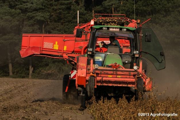 Deutz-Fahr + Grimme & Dewulf R3000 Mega-15