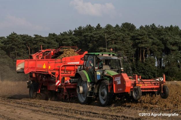 Deutz-Fahr + Grimme & Dewulf R3000 Mega-16