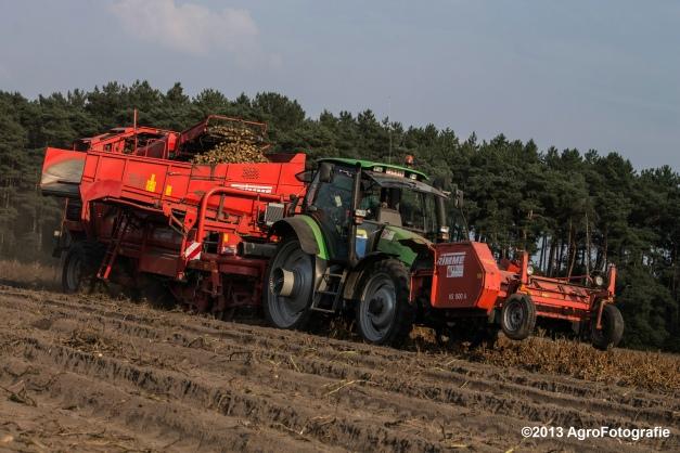 Deutz-Fahr + Grimme & Dewulf R3000 Mega-17