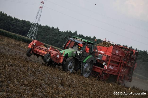 Deutz-Fahr + Grimme & Dewulf R3000 Mega-23