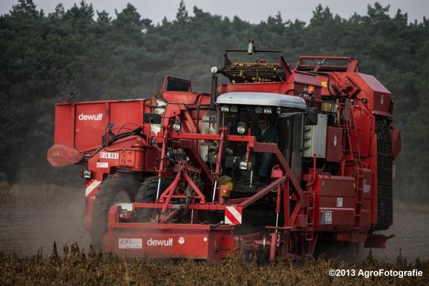 Deutz-Fahr + Grimme & Dewulf R3000 Mega-24