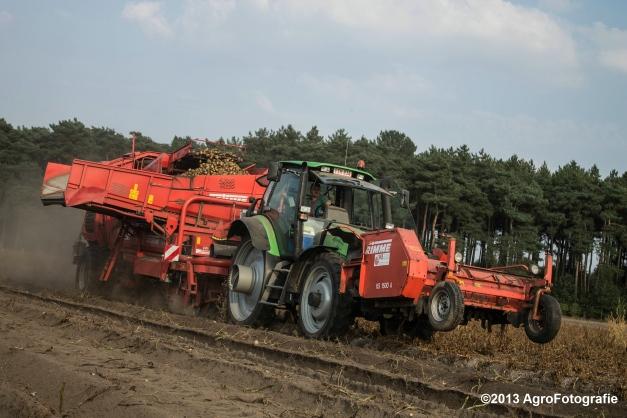 Deutz-Fahr + Grimme & Dewulf R3000 Mega-27