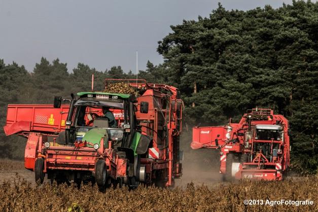 Deutz-Fahr + Grimme & Dewulf R3000 Mega-8